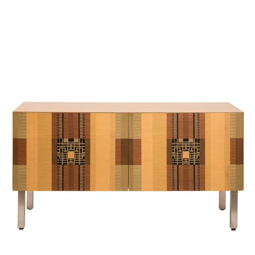 Intarsia Cabinet by Gregoni