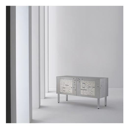 Intarsia Cabinet by Emilio Isgr?