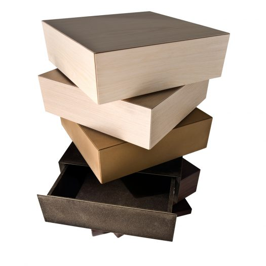 Cubic Chest of Drawers