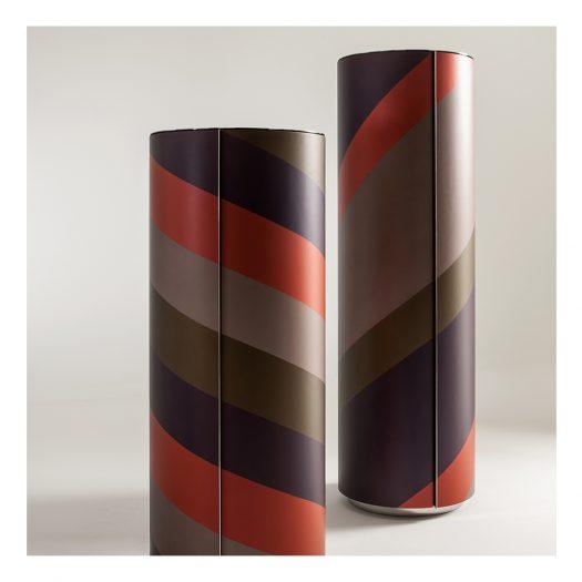 Tango Round Storage Unit by Bartoli Design