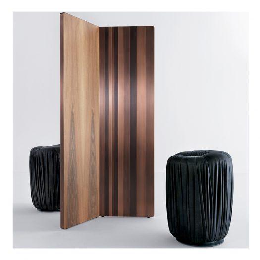 Tall Drap? Pouf by Bartoli Design