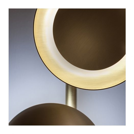 Gaia Small Wall Lamp by Cesare Arosio