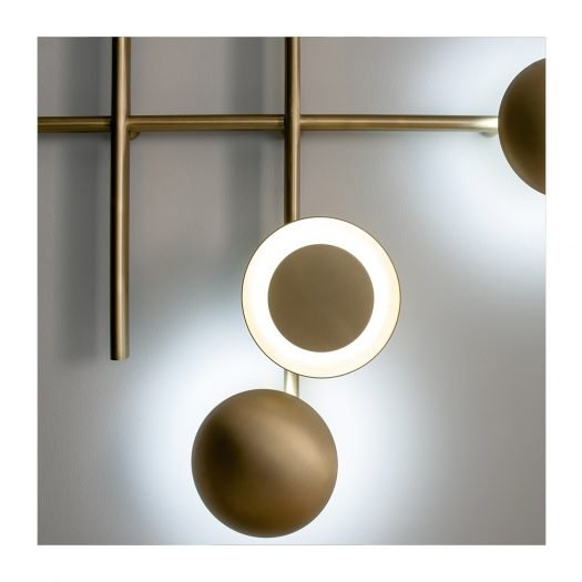 Gaia Large Wall Lamp by Cesare Arosio