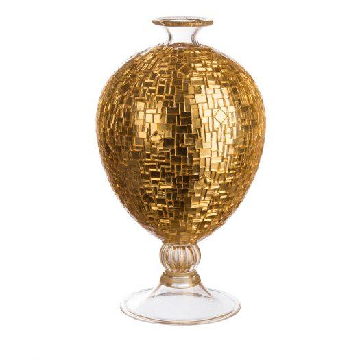 Veronese Gold Vase by Serena Luxury Mosaic