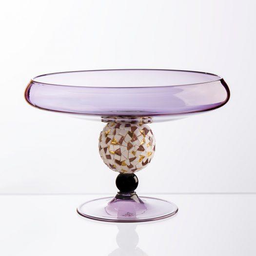 Moderna Footed Centerpiece by Serena Luxury Mosaic