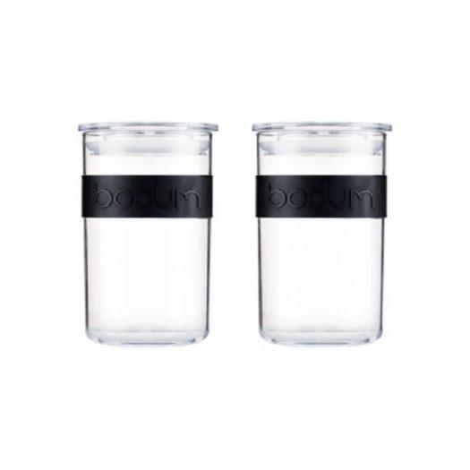 Bodum Presso Storage Jars, 250ml, Set of 4