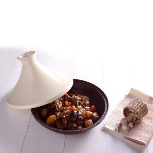 Staub Cream Tagine, 28 cm