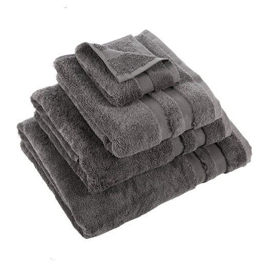 Pima Towel - Charcoal - Bath Sheet