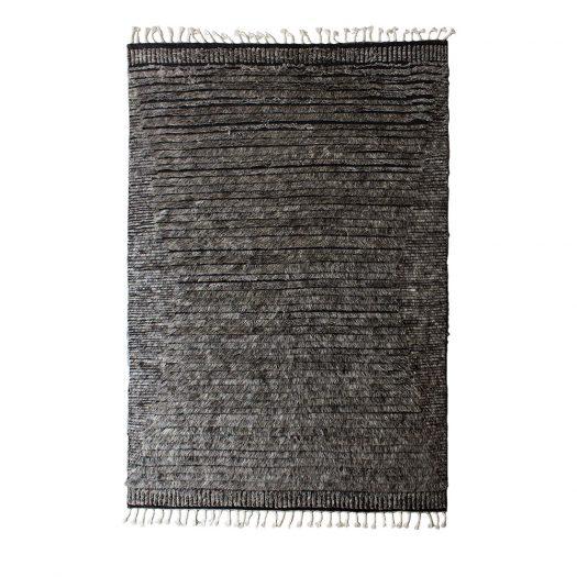 DUN 6201 Black and Dark-Gray Carpet