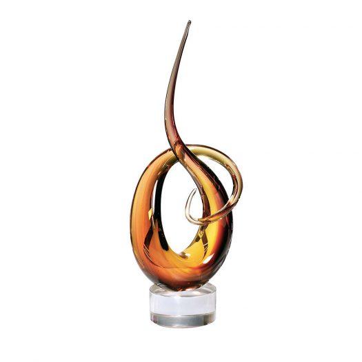 Nodus Orange Sculpture
