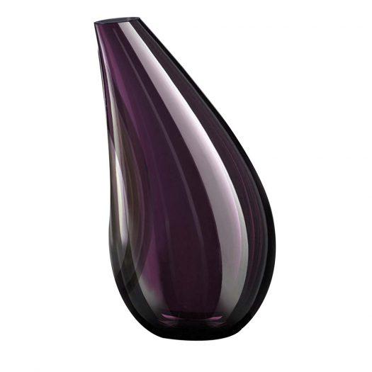 Avena Medium Purple and Gray Vase