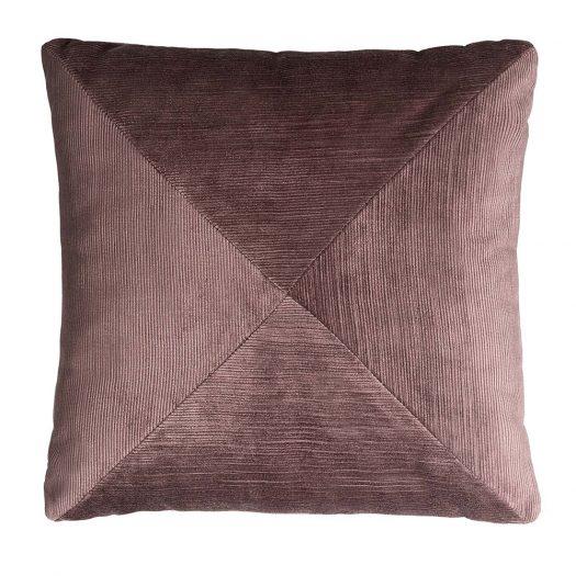 BOZZA Corduroy Pink Cushion by Lo Decor