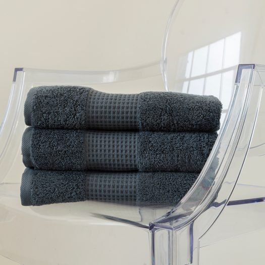 BEM Face Towel 30x35 Grey