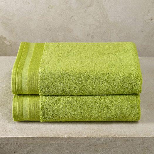 Bath Towel 70x140-Limegreen Dark
