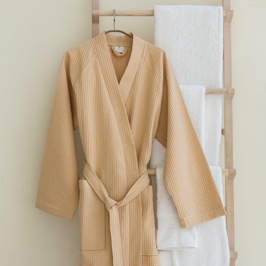 Bathrobe Kimono Camel-Medium