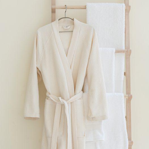 Bathrobe Kimono Natural Medium