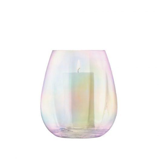 Pearl Lantern/Vase H22cm
