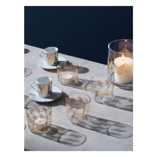 ChevronLantern/Vase H14cm