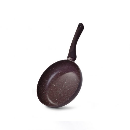 Frying pan MOSSES STONE  20x4.5 cm with induction bottom (aluminium with non-stick coating)