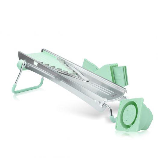 Mandoline slicer with 5 blades PROFI 39?15?14 cm (ABS + stainless steel)