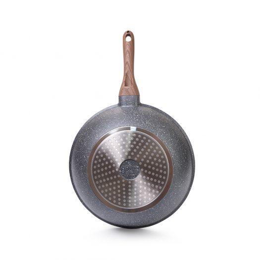Wok DAKJJIM 30×10 cm with induction bottom (aluminium with non-stick coating)