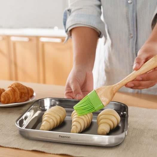 Baking Tray Stainless Steel 25x18x5cm