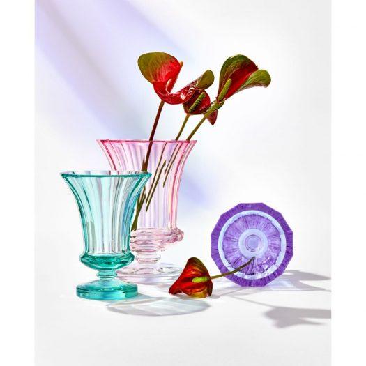 Gloria – 20,5 cm underlaid vase, cut