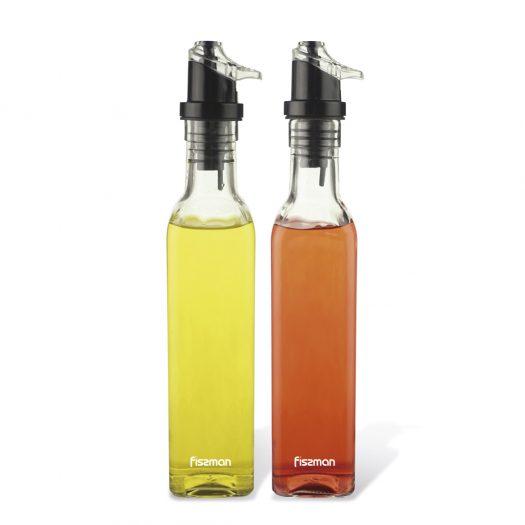 Oil&Vinegar bottle set 2x250 ml (glass)