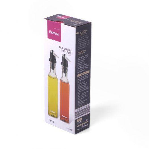 Oil&Vinegar bottle set 2×250 ml (glass)