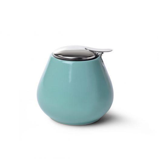 Sugar bowl 600 ml AQUAMARINE (ceramic)