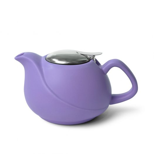 Teapot 750 ml with a metal strainer VIOLET (ceramic)