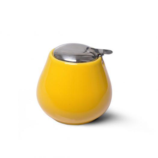 Sugar bowl 600 ml YELLOW (ceramic)