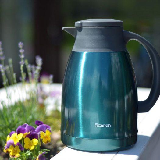 Double wall vacuum Coffee pot 1200 ml