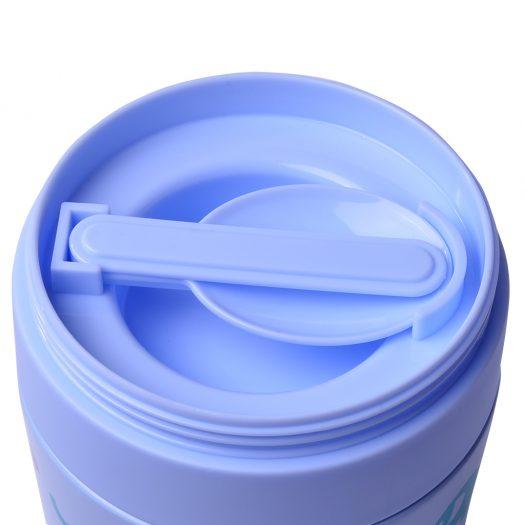 Purple Double wall vacuum food jar 350 ml (stainless steel)