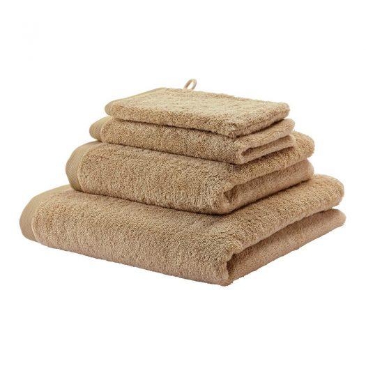 London - Towel - 55x100 cm - Latte  set of 3