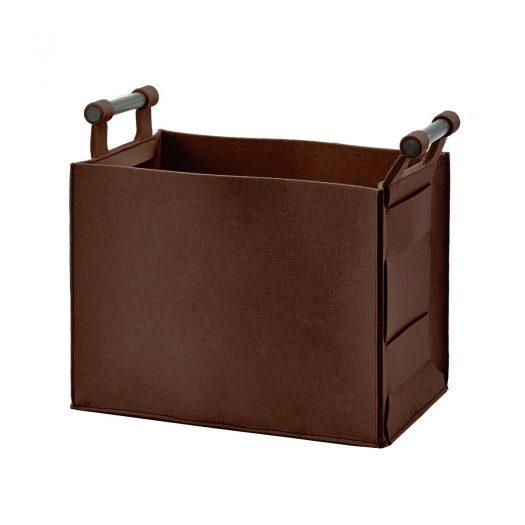 Luz – Storage basket – Maroon