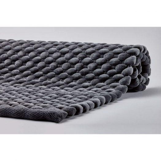 Maks - Bath mat - 70x120 cm - Dark grey