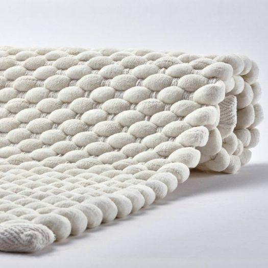 Maks - Bath mat - 60x100 cm - Ivory