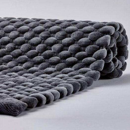 Maks - Bath mat - 60x100 cm - Dark grey