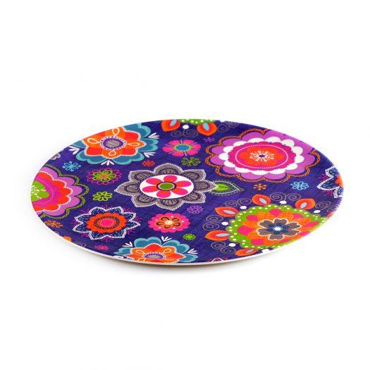 Plate PURPUR 28x1.2 cm (bamboo fibre)