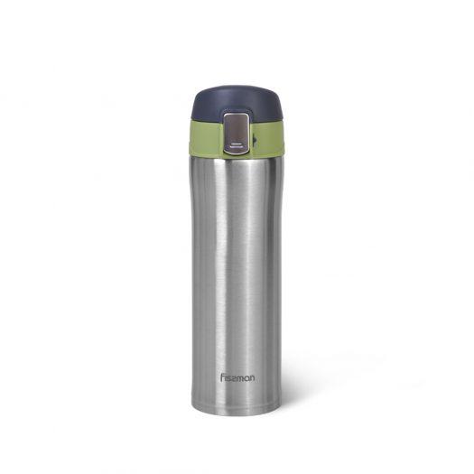 Green Vacuum travel mug 420 ml (stainless steel)