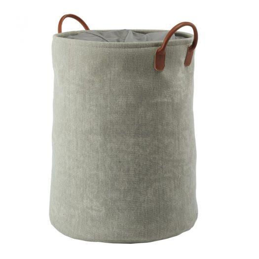 York - Laundry basket - Sage green
