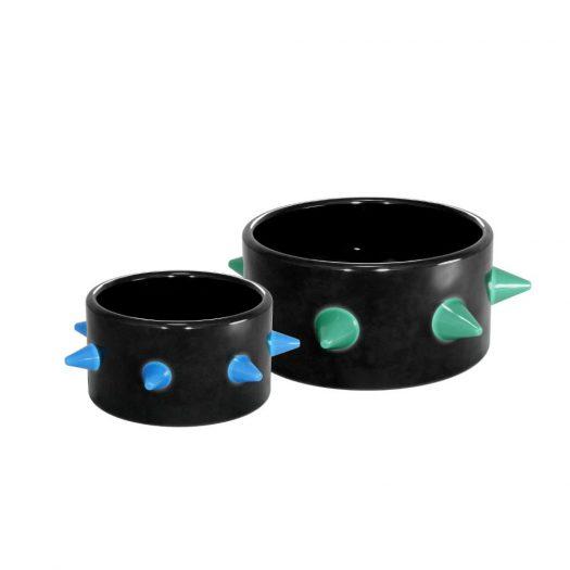 Trio ceramic pet bowl