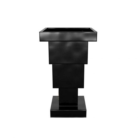 Holst Black/ White decorative ceramic vase
